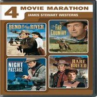 4 Movie Marathon: James Stewart Western Collection (DVD)