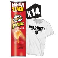 Pringles Potato Crisps Chips Mega Stack, Original, 6.8 Oz (Pack of 14)