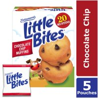 Entenmann's Little Bites Chocolate Chip Mini Muffins, 5 Pouches