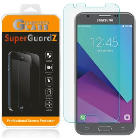 [2-Pack] For Samsung Galaxy Amp Prime 2 (Cricket) - SuperGuardZ Tempered Glass Screen Protector, 9H, Anti-Scratch, Anti-Bubble,