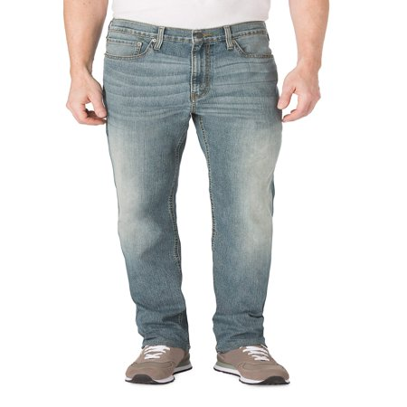 Signature by Levi Strauss & Co. Men's Relaxed Fit Jeans (Levis Loose Boot)