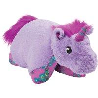 "Pillow Pets 18"" Lavender Unicorn Stuffed Animal Plush Toy Pillow Pet"