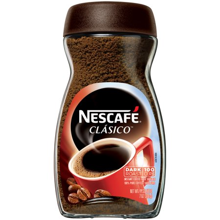 (3 Pack) NESCAFE CLASICO Dark Roast Instant Coffee 7 oz.