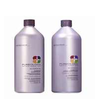 Pureology Hydrate Shampoo And Conditioner Liter Set, 33.8 Fl Oz