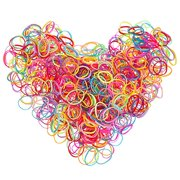 Creatov Multi Color Hair Holder Hair Tie Elastic Rubber Bands for Baby  Girls 3447b957214
