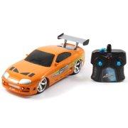 Jada Toys Fast and Furious 1:16 Radio Control Car, Brian's Toyota Supra