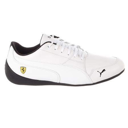 Puma Ferrari Drift Cat Sneaker - Puma White-puma White - Mens - 9 ()