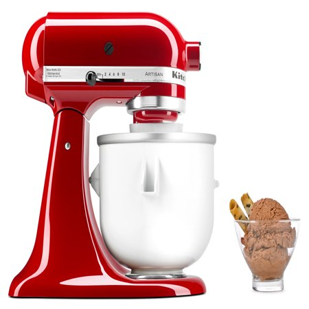 Whirlpool KitchenAid Ice Cream Maker Stand with Mixer (Kit Stand Mixer Attachment)