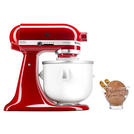 Whirlpool KitchenAid Ice Cream Maker Stand with Mixer (Kitchenaid Mixer Ice Cream Maker Attachment)
