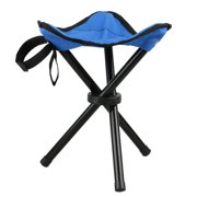 Eeekit Large Slacker Chair Portable Tripod Stool Folding With Carrying Case For Outdoor Camping