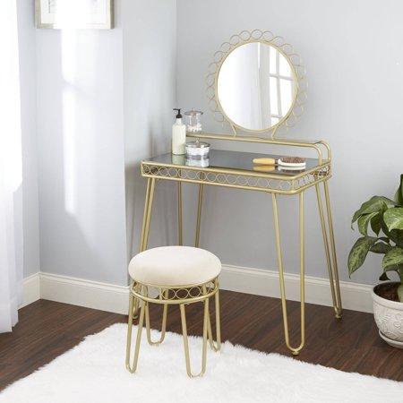 Better Homes and Gardens Mirabella Bedroom Vanity & Stool