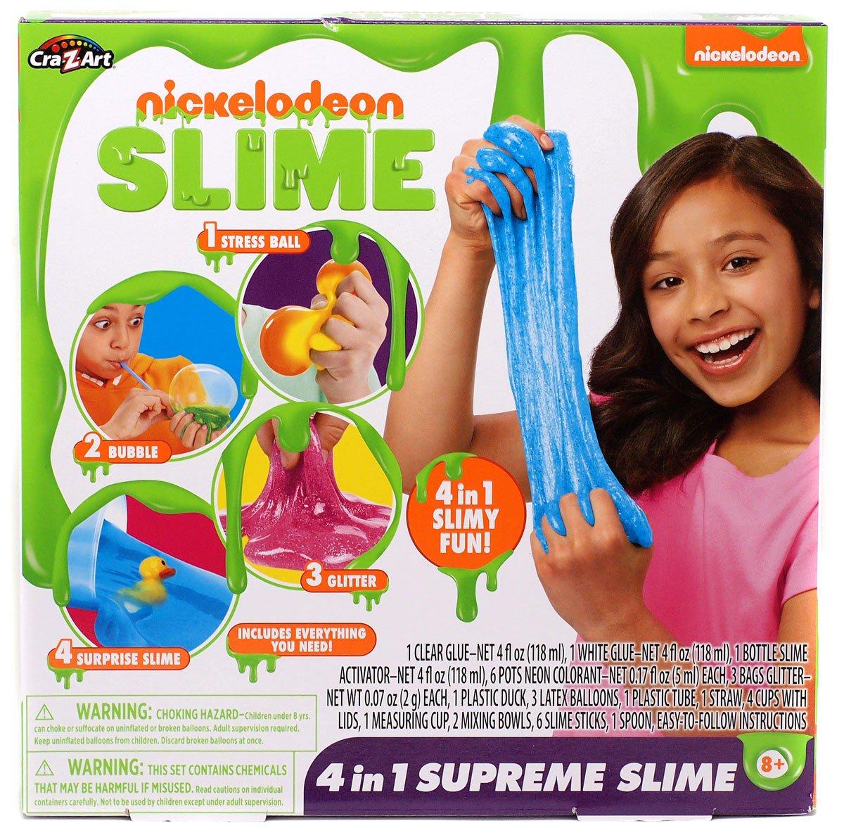 Nickelodeon 4-in-1 Supreme Slime Kit by Cra-Z-Art