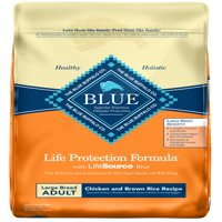 Blue Buffalo BLUE Life Protection Formula Large Breed Adult Dry Dog Food, Chicken and Brown Rice Recipe, 30-lb