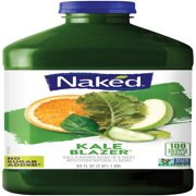 Naked Juice Fruit and Veggie Juice, Kale Blazer, 64 oz Bottle