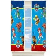 "Paw Patrol 63"" Room Darkening Boys Bedroom Curtain Panel"