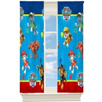 "Paw Patrol 63"" Room Darkening Boys Bedroom Curtain Panel"