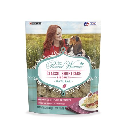 The Pioneer Woman Natural Dog Treats, Classic Shortcake Biscuits - 12 oz.