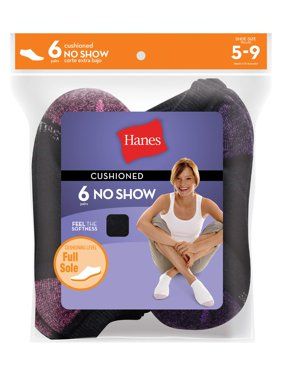 Women's 10 Pack + 3 Free ComfortBlend Half Cushion No Show Socks
