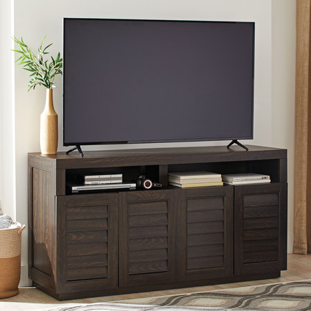 Better Homes & Gardens Ellis Shutter TV Storage Cabinet for TVs up to 75