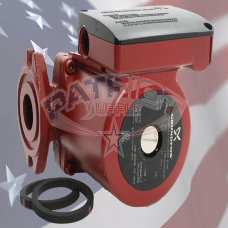- Grundfos 52722341 UP26-96F 1/12 HP Cast Iron Recirculation Pump
