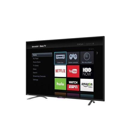 sharp 50 inch class full hd smart led tv 1080p 60hz lc50n4000u. Black Bedroom Furniture Sets. Home Design Ideas