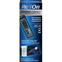 ReliOn Premier Compact Blood Glucose Monitoring Kit
