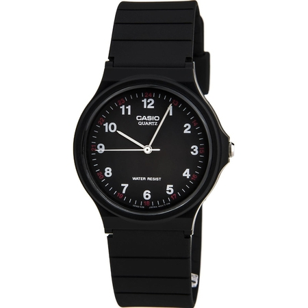 Classic Analog Water Resistant Watch w/ Resin Band - MQ24 - 10 (Watches)