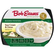 Bob Evans Sour Cream And Chives Mashed Potatoes, 24 oz