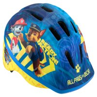 PAW Patrol Multi-Character Toddler Bike Helmet, Ages 3-5, Blue
