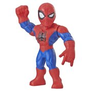 Playskool Heroes Marvel Super Hero Adventures Mega Mighties Spider-Man, 10-Inch Action Figure, Toys for Kids Ages 3 and Up