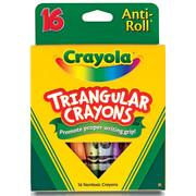 Crayola Triangular Crayon Set, 16-Colors