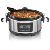Hamilton Beach Stay or Go 5-Quart Programmable Slow Cooker | Model# 33957