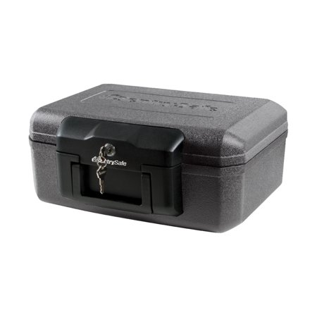 SentrySafe 1200 Fire-Resistant Box with Key Lock 0.18 cu (Shaft Key)