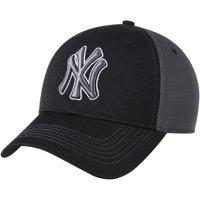 New York Yankees Fan Favorite Blackball Adjustable Hat - Black/Charcoal - OSFA