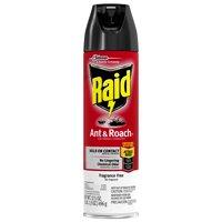 Raid Ant & Roach Killer, Fragrance Free, 17.5 OZ