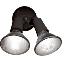 Brink's Dusk To Dawn Activated Flood Security Light, Bronze
