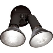 Brink S Dusk To Dawn Activated Flood Security Light Bronze