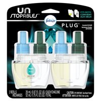 Febreze Unstopables Plug Scented Refills, Fresh scent, 2 count