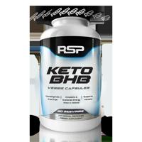 RSP Nutrition Keto BHB, Exogenous Ketones for Ketogenic Diet, Energy Boost, Focus, Vegan Friendly, 240 Ct