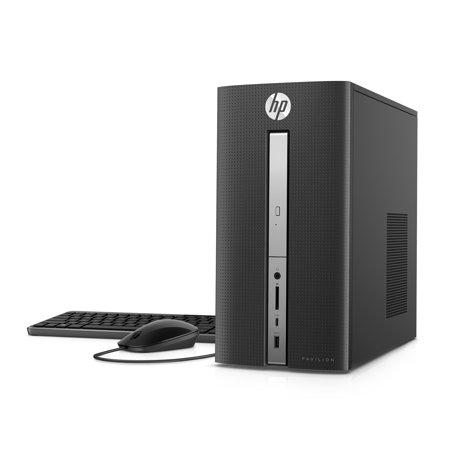 HP Pavilion Desktop Tower, Intel Core i7-7700 , 16GB Memory, 2TB Hard Drive, Windows 10 home, 570-p033w