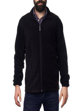 Alpine Swiss Trent Mens Full Zip Up Fleece Jacket Soft Casual Warm Zipper Coat