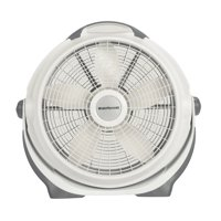 "Lasko 20"" Air Circulator Wind Machine, 3-Speed Fan, Model #A20301, Gray"