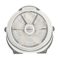 "Lasko 20"" Air Circulator Wind Machine, 3-Speed Fan, Model #A20301, Gray"