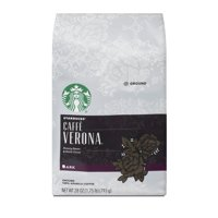 Starbucks Caffe Verona Dark Roast Ground Coffee, 28-ounce bag