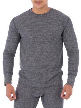 Fruit of the Loom Men's L3 Soft Tech Crew Top Thermal Undershirt