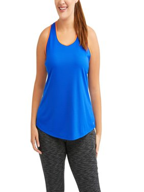 Women's Plus Mesh Tank with Pop of Color
