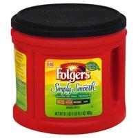 Folgers Mountain Grown Simply Smooth Medium Ground Coffee, 31.1 oz