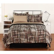 Home Trends Interlocking Squares Bed In
