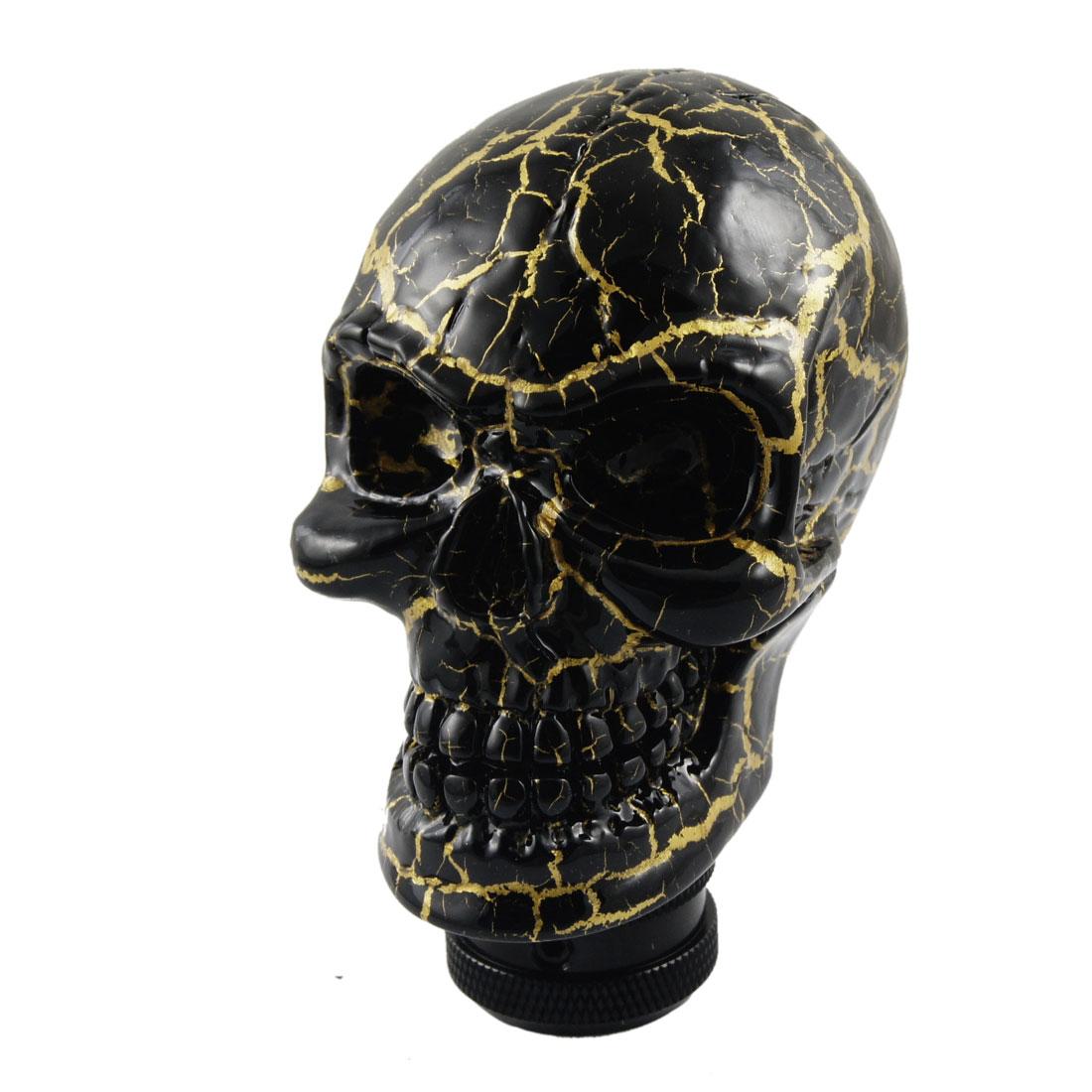 Human Wicked Skull Head Stick Shift Knob Shifter Gear Fit Honda Mazda Universal