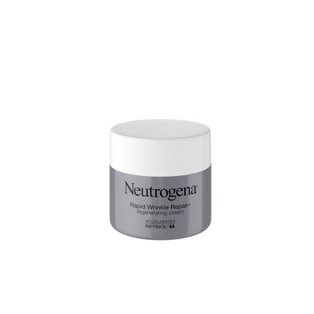 Hand Wrinkle Cream (Neutrogena Rapid Wrinkle Repair Hyaluronic Acid & Retinol Cream, 1.7 oz )